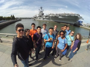 Old and new members on our annual trip to the Intrepid last weekend.