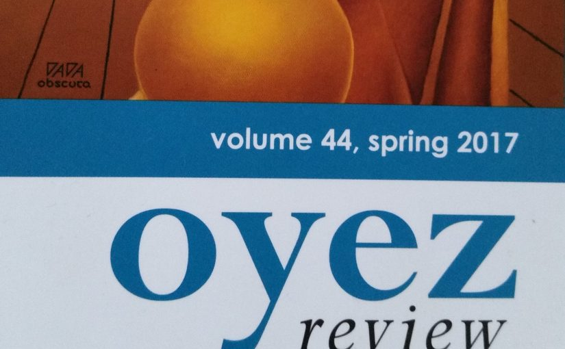 'No Splashing' – A Short Story of Mine Published by Oyez Review