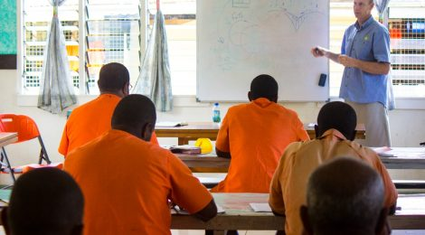 Teaching in Prisons: A Q&A with Anne Freeland