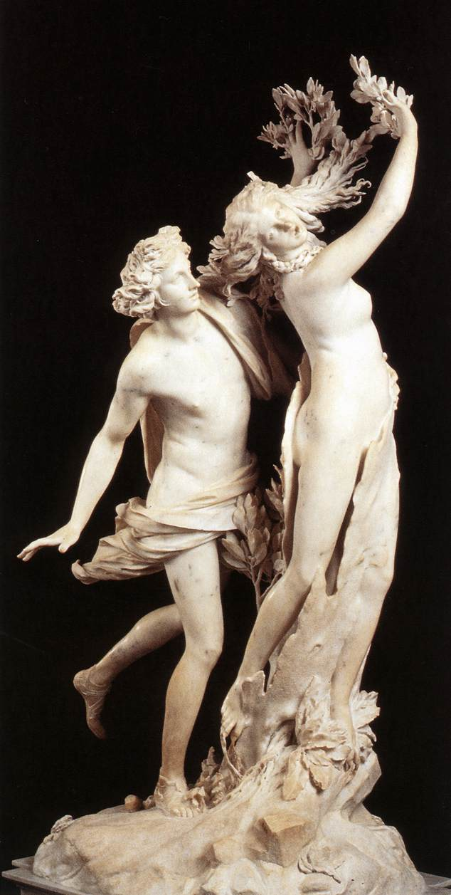 Apollo And Daphne Experiencing The Divine