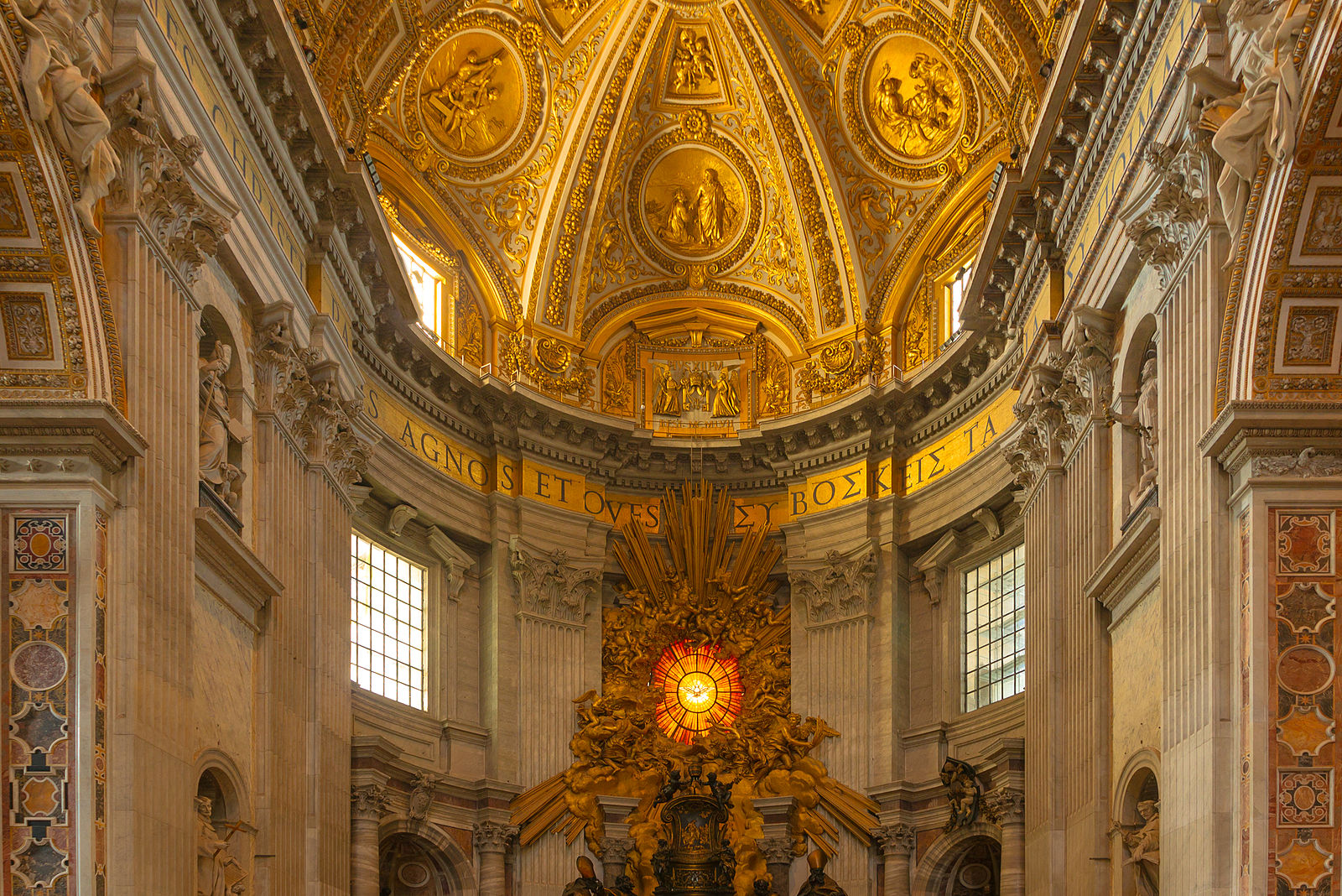 12 architects of st peter s basilica St peter's basilica situated in vatican city,  adorned with the miraculous touch of the greatest italian architects of the late renaissance era,  october 12.