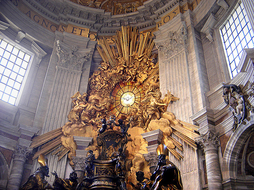 Back of Chair of St Peter
