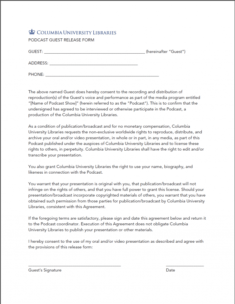Thumbnail image of guest consent form