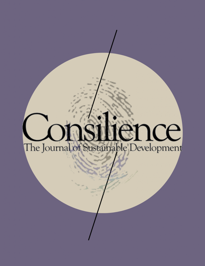 cover image for Consilience Journal