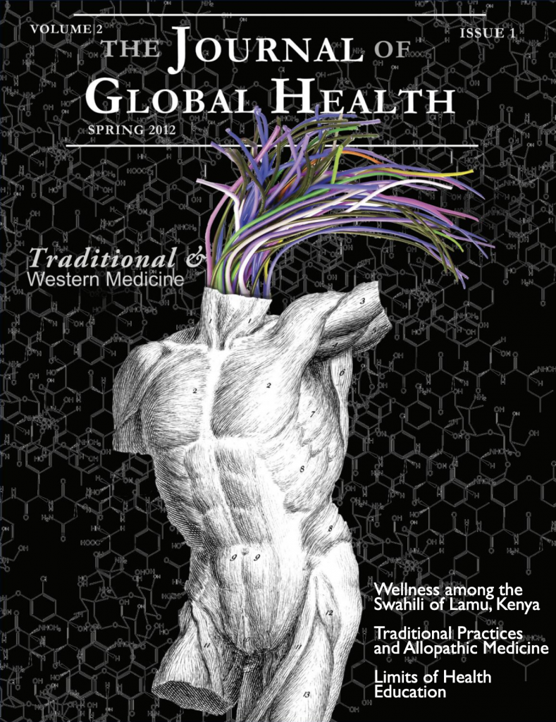 Cover image for the journal of global health