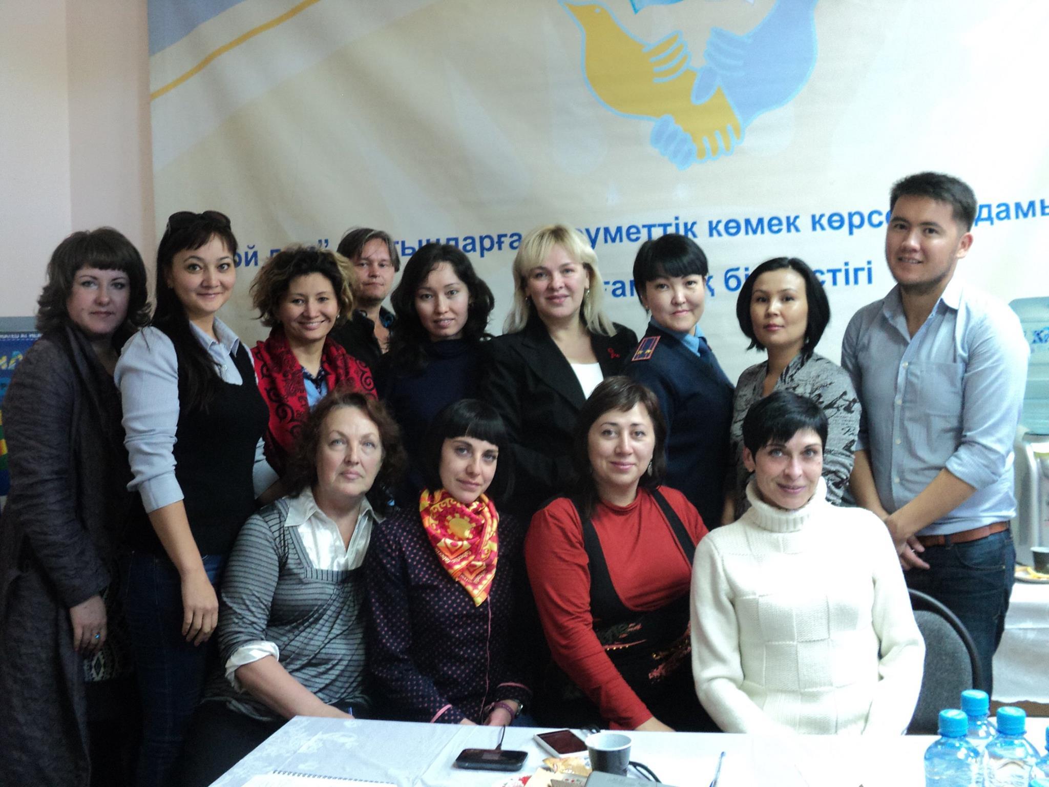 NOVA team in Temiratu, CAB meeting, September, 2015