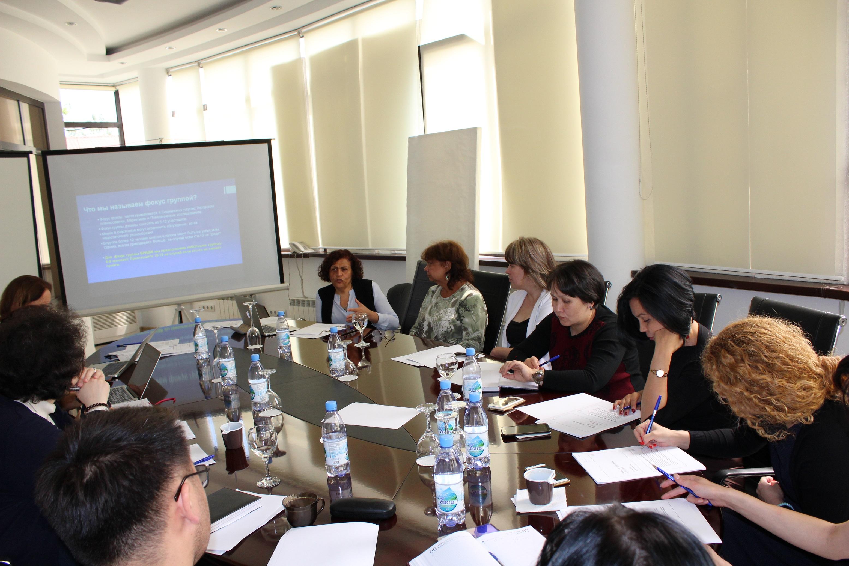 Training of NOVA team in Almaty, May 2016