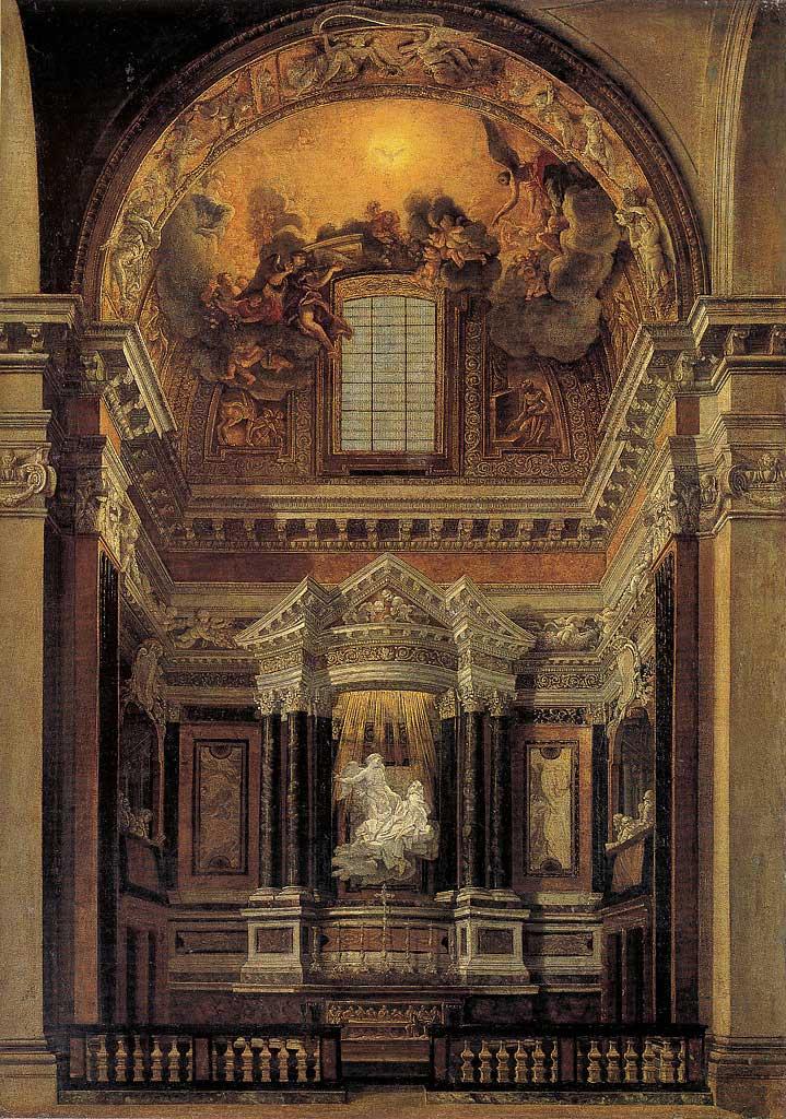 bernini st. teresa cornaro chapel