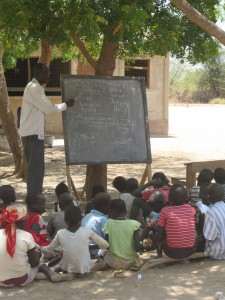 Dadaab (outside classroom)
