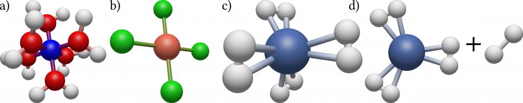 molecule complex geometries
