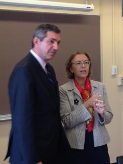 EU Special Representative for Human Rights, Stavros Lambrinidis, visits Columbia University