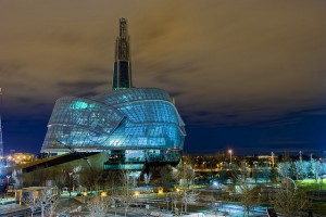 The $351 million Canadian Museum for Human Rights, opened in 2014, is part of Canada's attempt to make human rights a lasting part of its national identity.