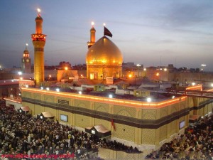 The Shrine of Imam Hussain