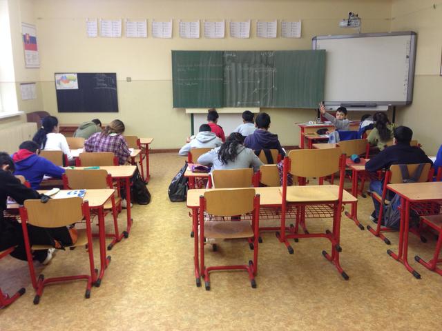 Interior of container school for Roma children in Slovakia    Amnesty  International d90865bdbf