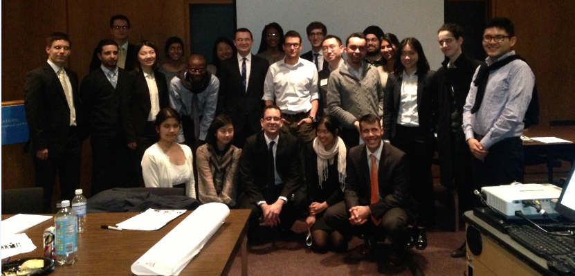 SIPA students and Solution Providers professionals after the presentations