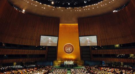 Chief of UN Outreach: John Ericson